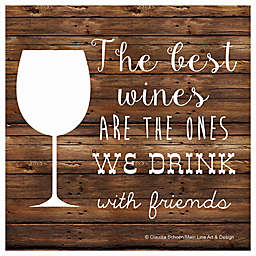 Thirstystone® The Best Wines Individual Coaster