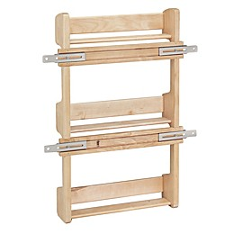 Rev-A-Shelf - 4SR-18 -  Cabinet Door Mount Wood 3-Shelf Spice Rack