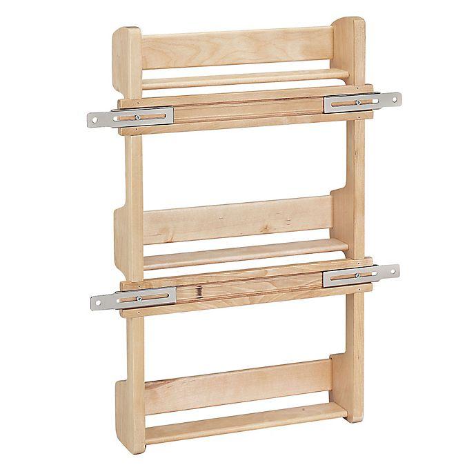 Rev A Shelf 4sr 18 Cabinet Door Mount Wood 3 Shelf