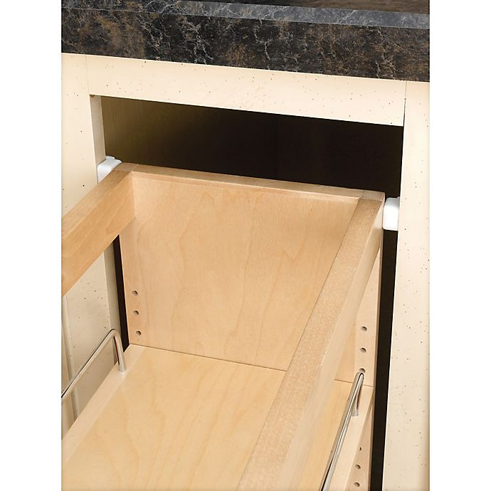 Bathroom Pull Out Cabinet Organizers: Pull-Out Wood Wall Cabinet