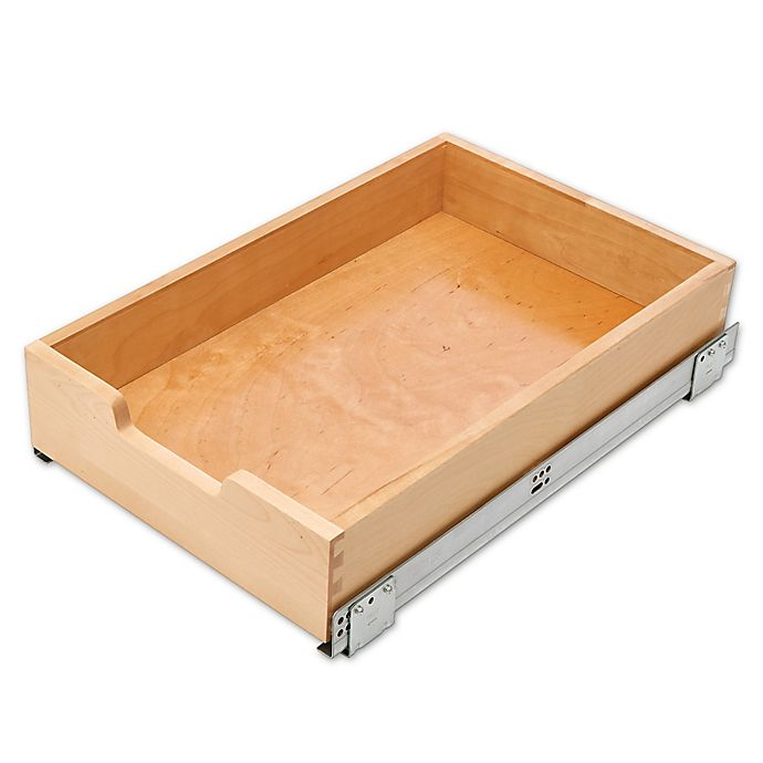"""Pull Out Drawer Kitchen Cabinet Specs: 14"""" Standard Pull-Out Drawer"""