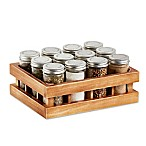 Kamenstein® Wooden12-Jar Spice Rack