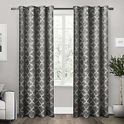 Exclusive Home Cartago Room-Darkening Grommet Top Window Curtain Panels (Set of 2)
