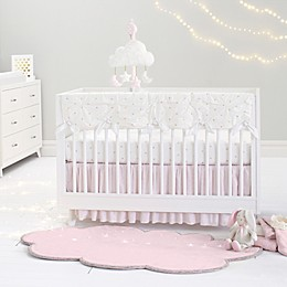 Just Born® Sparkle Crib Bedding Collection in Ivory