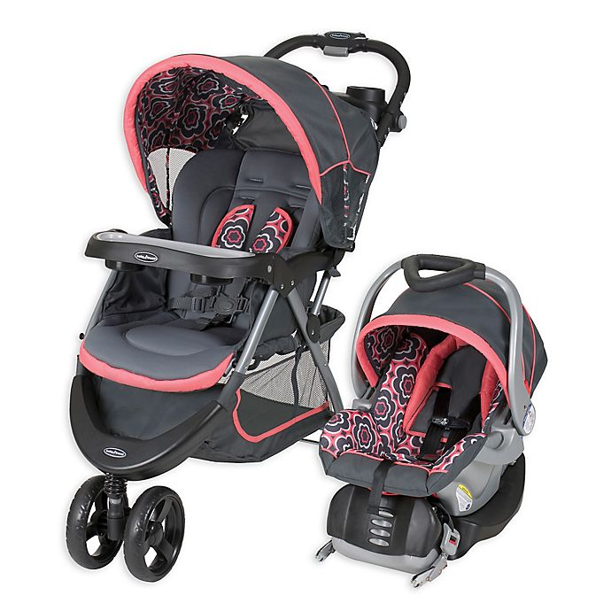 Baby Trend 174 Nexton 174 Travel System In Coral Floral Bed