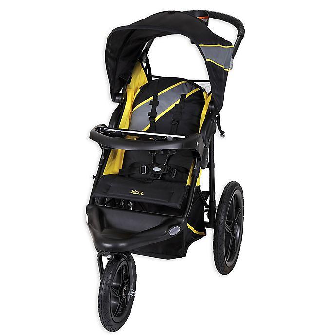 Alternate image 1 for Baby Trend® Xcel Jogger Stroller in Lemon Zest