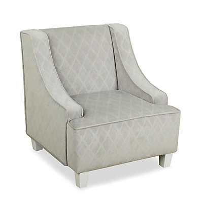 HomePop Swoop Juvenile Chair in Grey