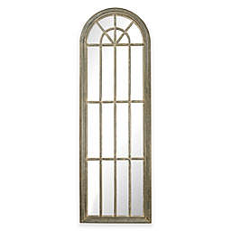 Sterling Industries 24-Inch x 72-Inch Arched Window Pane Mirror