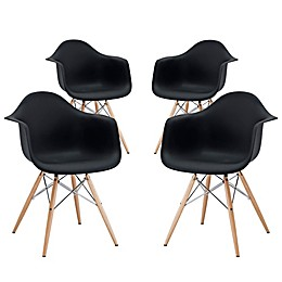 Modway Pyramid Dining Chair Collection