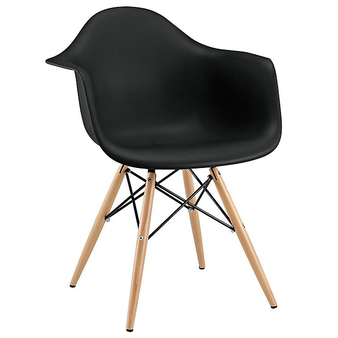 Alternate image 1 for Modway Pyramid Dining Armchair