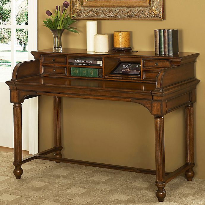 Cool Turnkey Winsome Executive Smart Top Desk In Dark Wood Bed Download Free Architecture Designs Itiscsunscenecom