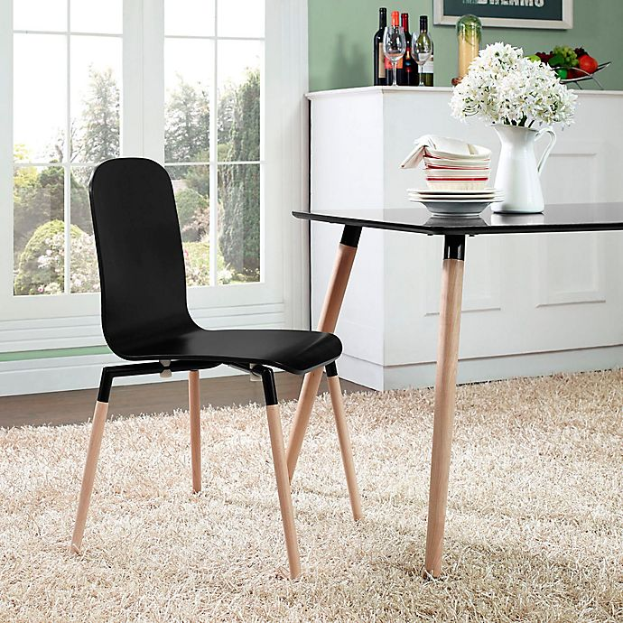 Alternate image 1 for Modway Stack Dining Side Chair