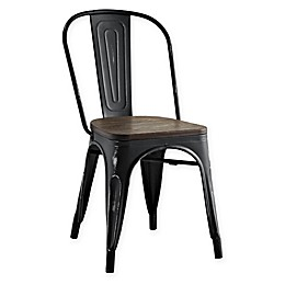 Modway Promenade Steel/Wood Dining Side Chair