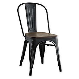 Modway Promenade Steel/Wood Dining Side Chair