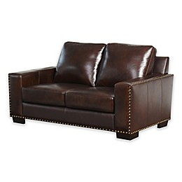 Abbyson Living® Beverly Loveseat in Espresso