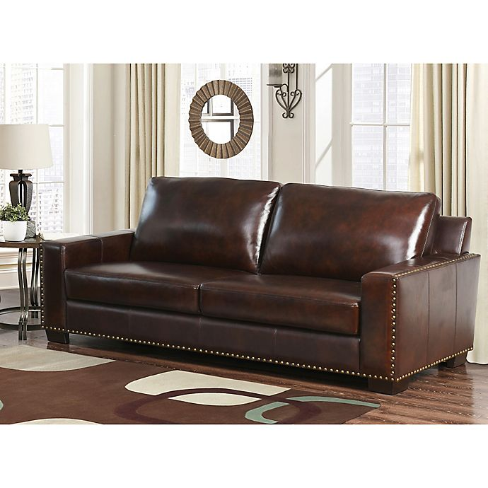 Alternate image 1 for Abbyson Living® Beverly Sofa in Espresso