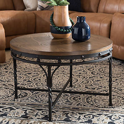 Austin Cocktail and End Table Collection in Antique Bronze