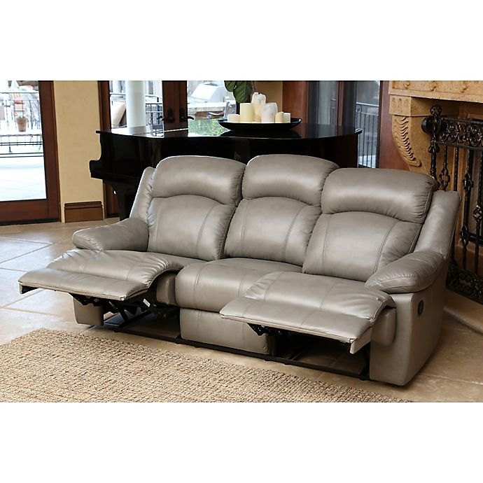 Remarkable Abbyson Living Warwick Reclining Leather Sofa And Loveseat Unemploymentrelief Wooden Chair Designs For Living Room Unemploymentrelieforg