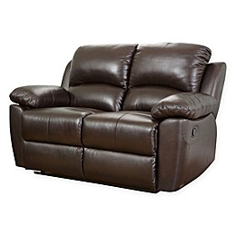 Abbyson Living® Westwood Leather Loveseat