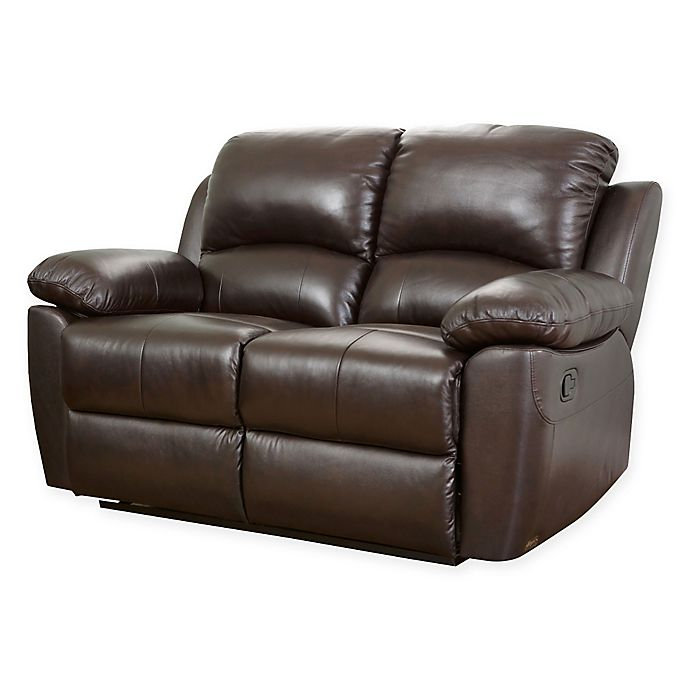 Alternate image 1 for Abbyson Living® Westwood Leather Loveseat