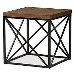 Holden End Table in Antique Bronze