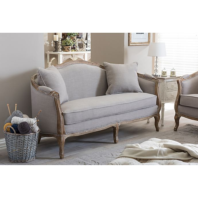 Cool Corneille 2 Seater Sofa And Lounge Chair Collection In Beige Spiritservingveterans Wood Chair Design Ideas Spiritservingveteransorg