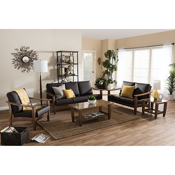 Living Room Bed Bath And Beyond: Baxton Studio Pierce Living Room Furniture Collection