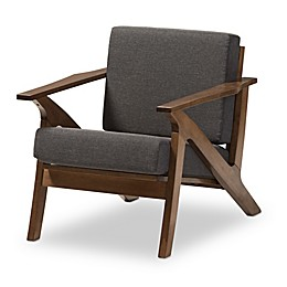 Cayla Chair in Grey/Brown