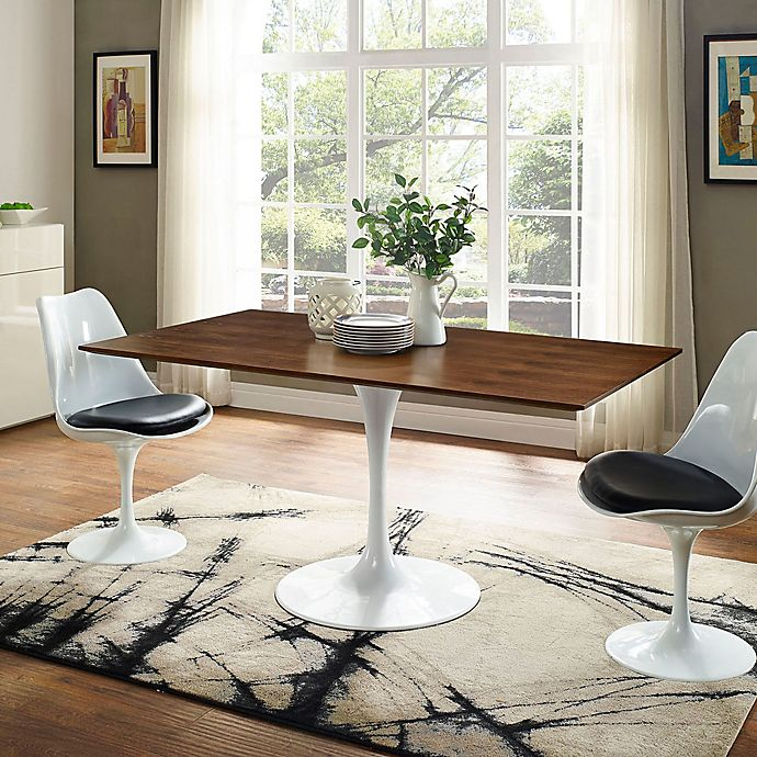 Rectangle Dining Table With Bench: Modway 60-Inch Lippa Rectangle Dining Table