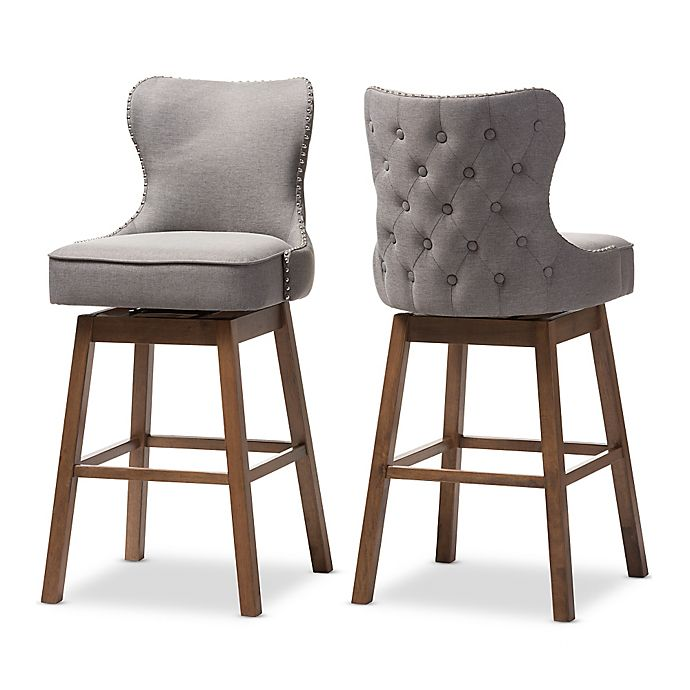 Gradisca Swivel Bar Stool Set Of 2 Bed Bath Amp Beyond