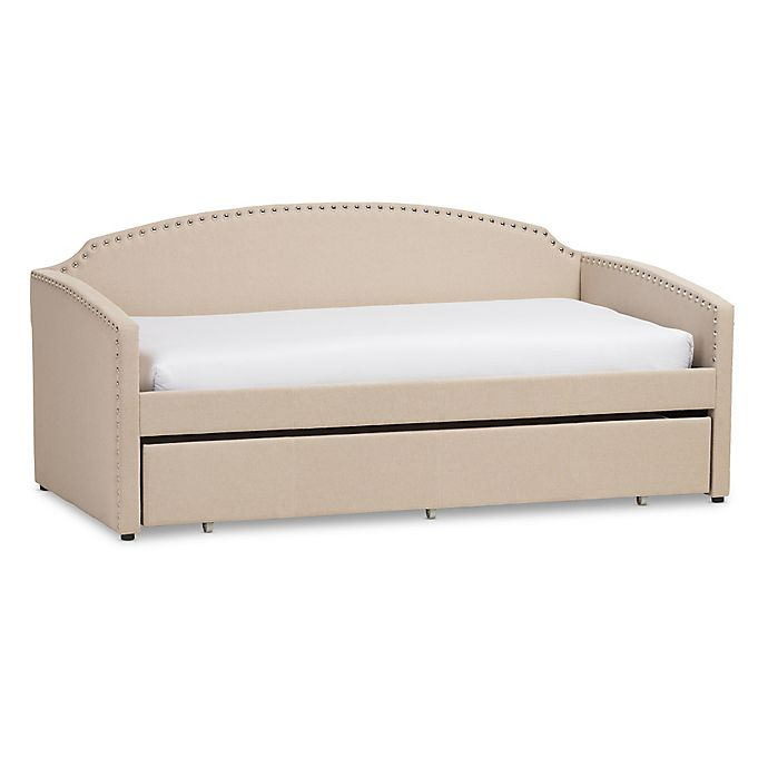 Alternate image 1 for Baxton Studio Lanny Sofa Twin Bed