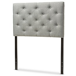 Viviana Upholstered Button-Tufted Twin Headboard