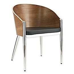 Modway Wood Copper Dining Chair