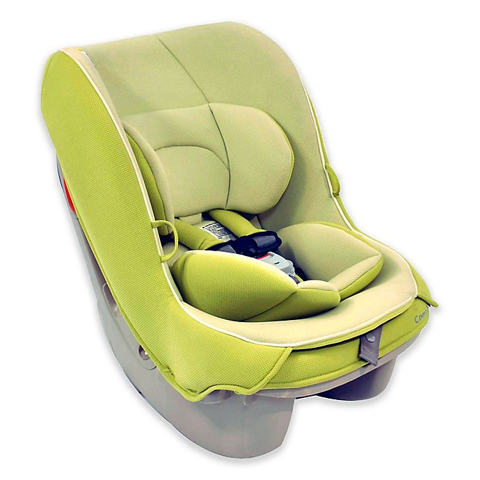 Alternate image 1 for Combi Coccoro Convertible Car Seat in Key Lime Green