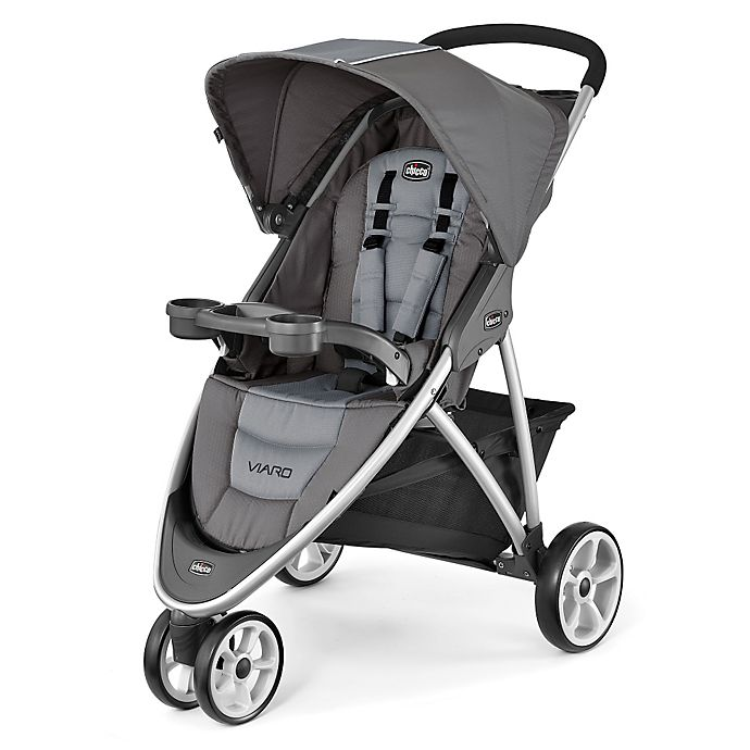 Alternate image 1 for Chicco® Viaro™ Stroller in Graphite