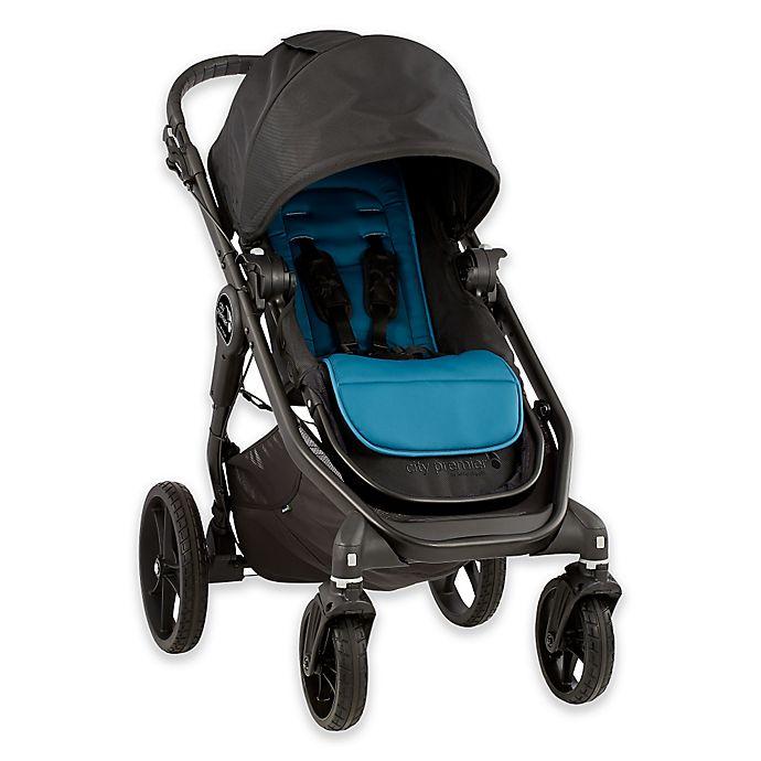 Baby Jogger 174 City Premier Stroller In Black Teal Bed