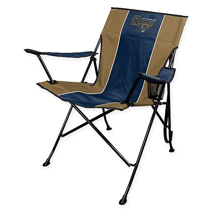 Alternate image 1 for NFL Los Angeles Rams Deluxe Quad Chair