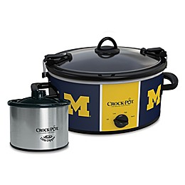 University of Michigan  Crock-Pot® Cook & Carry™ Slow Cooker with Little Dipper Warmer