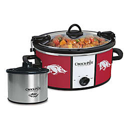 Collegiate Crock-Pot® Cook & Carry™ Slow Cooker with Little Dipper Warmer