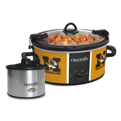 University Of Missouri Crock Pot 174 Cook Amp Carry Slow