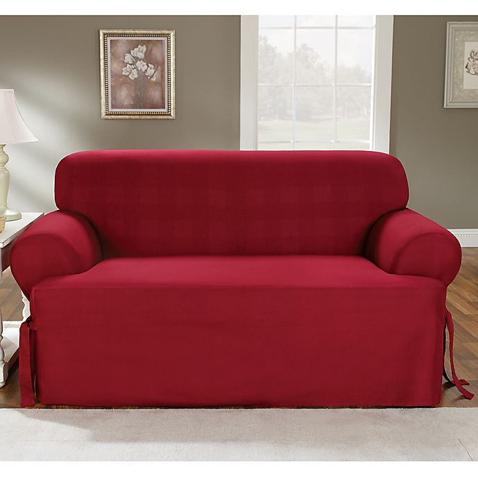 Claret T Cushion Slipcovers By Sure Fit