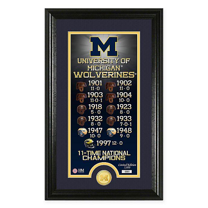 Alternate image 1 for NCAA University of Michigan \