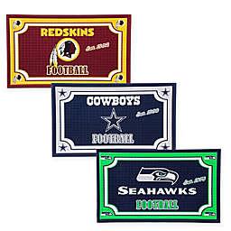 NFL Embossed Door Mat Collection