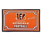 NFL Cincinnati Bengals Embossed Door Mat