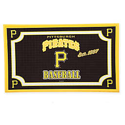 MLB Pittsburgh Pirates Embossed Door Mat