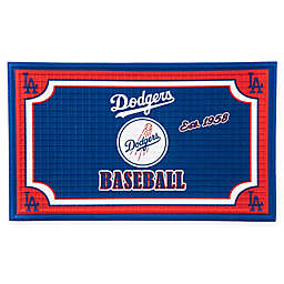 MLB Los Angeles Dodgers Embossed Door Mat