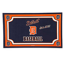 MLB Detroit Tigers Embossed Door Mat