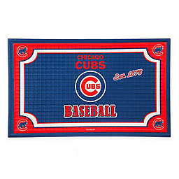 MLB Chicago Cubs Embossed Door Mat