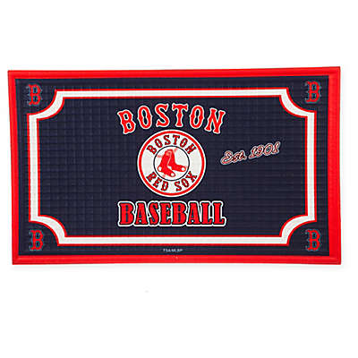 MLB Boston Red Sox Embossed Door Mat