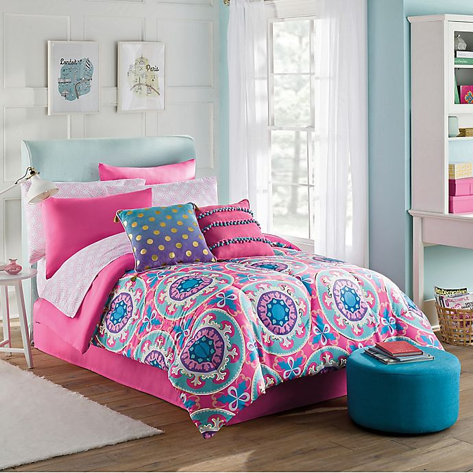 Alternate image 1 for Emily 6-Piece Twin Comforter Set